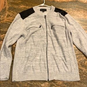 INC Zip up sweater *New Without Tags*
